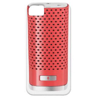 Red smart speaker iPhone 5 case