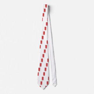 Red smart speaker tie