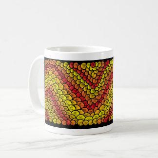 red snake coffee mug