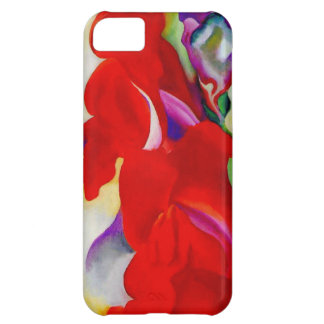 Red Snap Dragon iPhone 5C Case