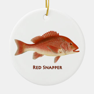Red Snapper Ornament