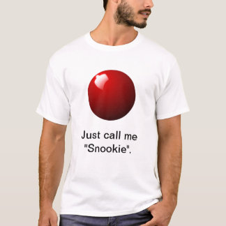 Red Snooker Ball Table Sport T-Shirt