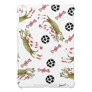 red soccer dog, bones balls cover for the iPad mini