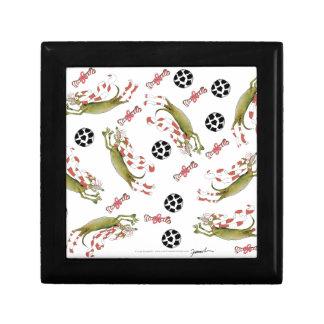 red soccer dog, bones balls gift box