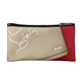 Red Soles heels stilettos kraft box Cosmetics Bags