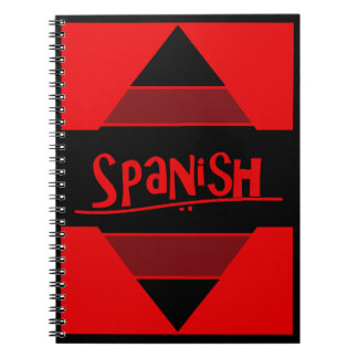 Red Spanish Notebook