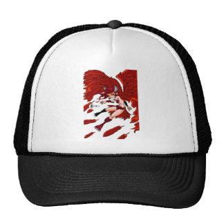Red sparrow English story Sakurajima Kagoshima Cap