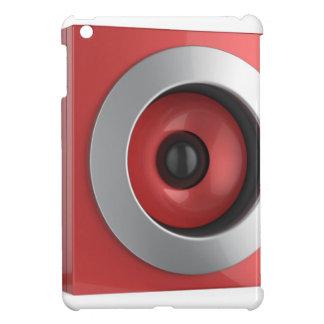Red speaker iPad mini case