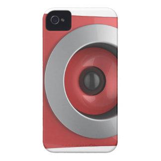 Red speaker iPhone 4 case