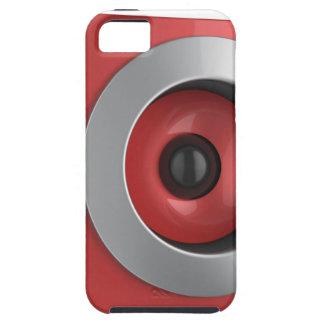 Red speaker iPhone 5 case