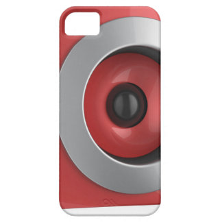 Red speaker iPhone 5 cover