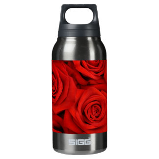 Red Spectacular Roses 0.3 Litre Insulated SIGG Thermos Water Bottle