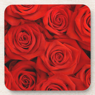 Red Spectacular Roses Coasters