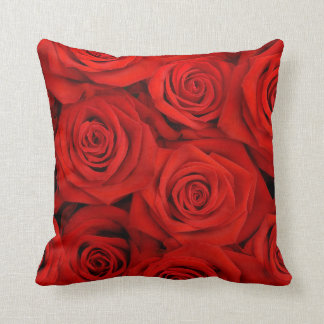 Red Spectacular Roses Cushions