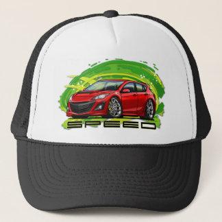 Red_Speed3 Trucker Hat