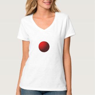 Red Sphere Fractal Tshirt
