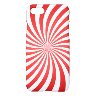 Red spiral iPhone 7 case