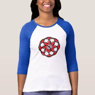 Red Spirographic Shirt