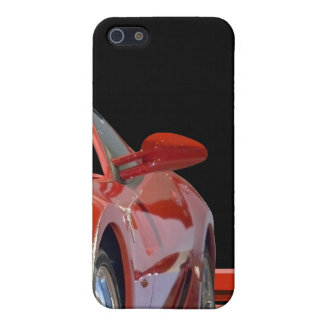 Red Sports Car  Case For The iPhone 5