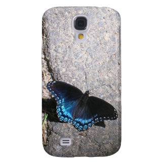 Red Spotted Admiral Butterfly Samsung Galaxy S4 Case