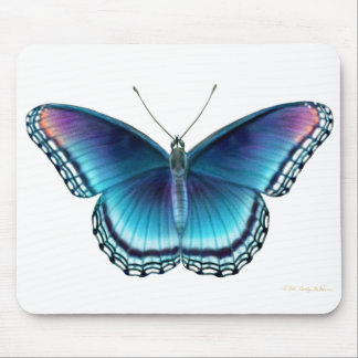 Red Spotted Purple Butterfly Mousepad