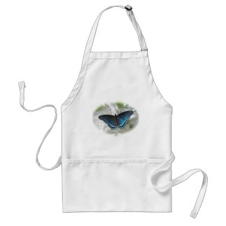Red Spotted Purple Butterfly Series Standard Apron