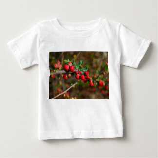 Red Spring Buds Baby T-Shirt
