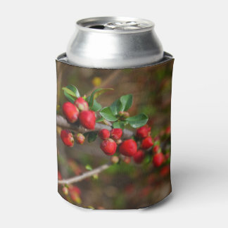 Red Spring Buds Can Cooler
