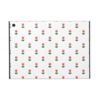 Red Spring Tulip Flowers iPad Mini Case