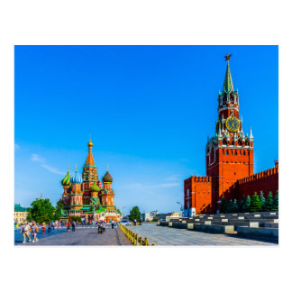 Red Square of Moscow Postcard