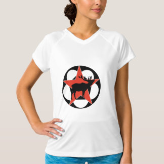 Red Star Elk Camping T-Shirt