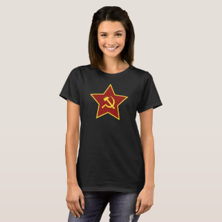 Red Star Hammer and Sickle Women's T-Shirt