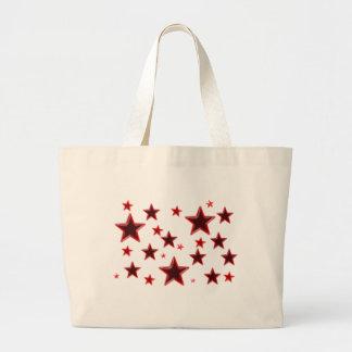 Red Star Jumbo Tote Bag