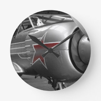 Red Star Yak 52 Wall Clocks
