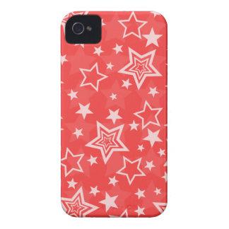 Red Stars BlackBerry Bold Case
