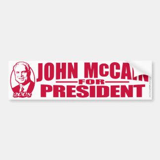 Red States McCain Bumper Sticker