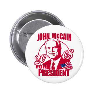Red States McCain Button