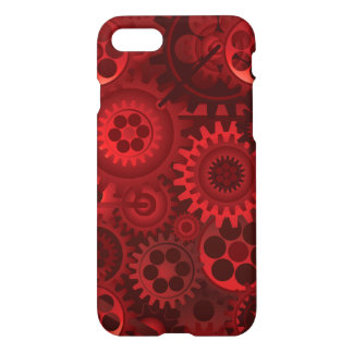 Red Steampunk iPhone 7 Case