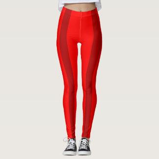 red steel bars leggings