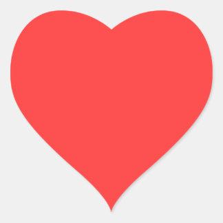 Red Heart Sticker