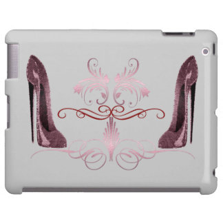 Red Stiletto Shoes and Art iPad Case