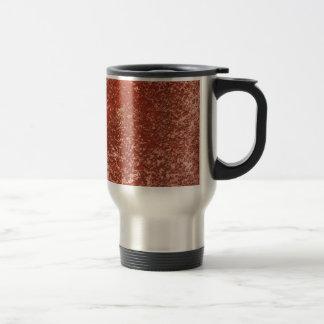 Red stone travel mug