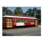 Red Streetcar Postcard