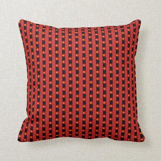 Red Stripe Cushion