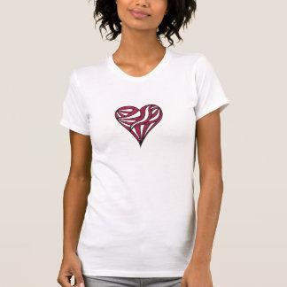Red Striped Heart Shirt