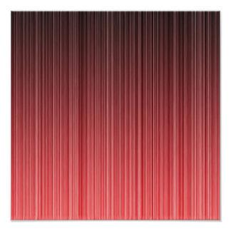 Red Striped Art Photo