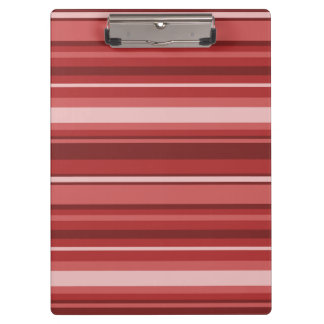 Red stripes clipboards