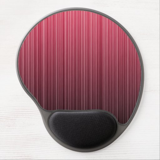 Red Stripes Gel Mouse Mat