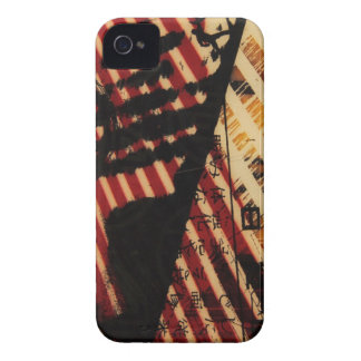 red stripes iPhone 4 Case-Mate case