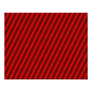 Red Stripes Pattern Photograph